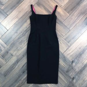 Tahari Black Sleeveless Sheath Dress